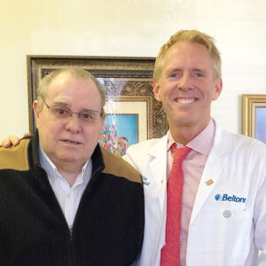 Tom Groves and Dr. Lee