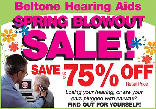 Spring Blowout Sale!Take Advantage of These Hearing Aid Discounts