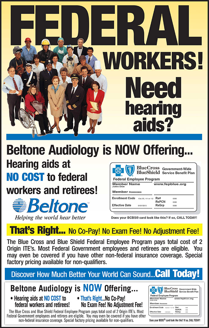 Federal WorkersNeed Hearing Aids?